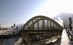 Controluce sul ponte del Madrasco