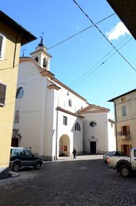Piazza della Chiesa di Fusine