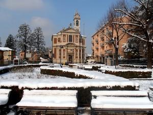 Piazza della Repubblica Innevata