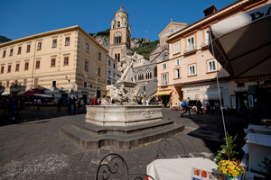 La  Piazza di Amalfi