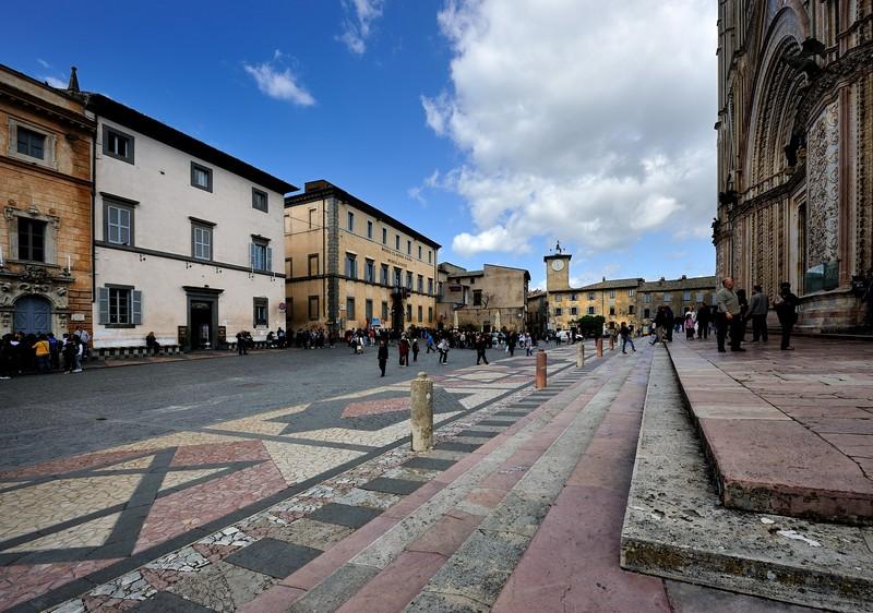 ''in Piazza Duomo'' - Orvieto