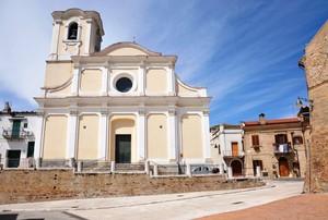 Largo San Mercurio con l'omonima chiesa