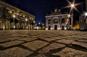 Piazza Duomo by night