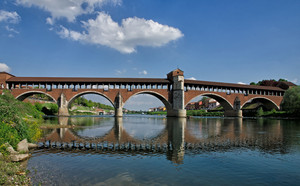 Ponte coperto –  Pavia -