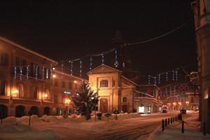 piazza Garibaldi notte….bianca