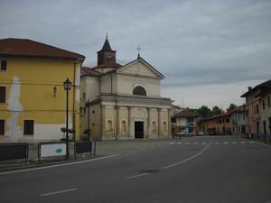 Piazza Liberta' di Carisio