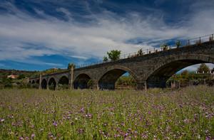 Ponte ferroviario in contrada Schettino