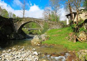 Ponte sul torrente Malone