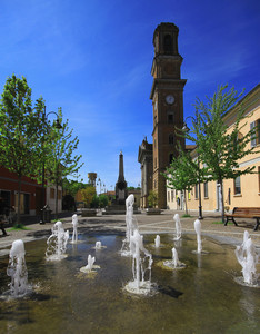 La piazza del Narciso