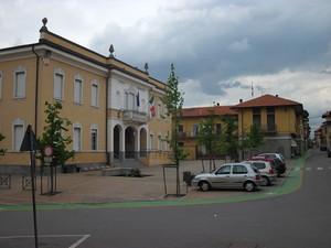 Piazza Liberta' di Rovasenda