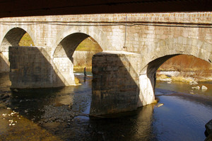 Ponte sul fiume Sarca