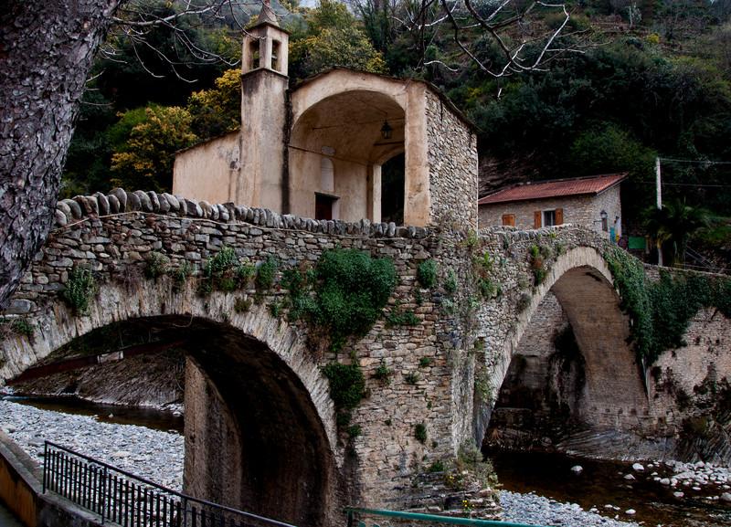 ''il ponte e la chiesa'' - Badalucco