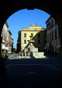 piazza del comune Sutri