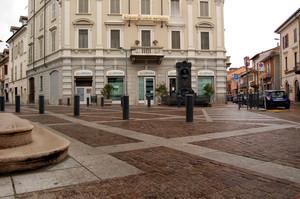La piazza del 159º papa della Chiesa cattolica