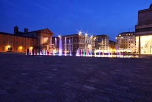 Le luci di Piazza Martiri