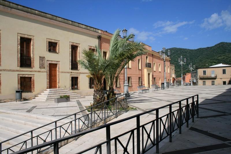 ''Piazza della Parrocchia e Biblioteca Comunale'' - Teulada