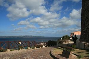 Piazza dell'Ordine di San Maurizio e San Lazzaro con vista