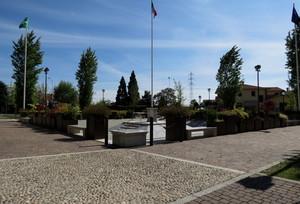 Piazza della costituzione della Repubblica Italiana