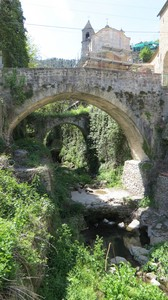 vecchi ponti a Ceriana