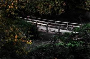 Ponte in legno al Sorbo