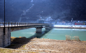 Un ponte nella piana della Selvetta