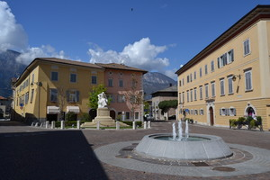 In piazza a Lavis