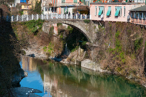 Il ponte di via Umberto I