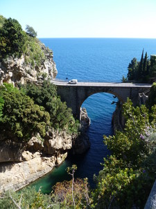 Furore:il ponte dei tuffi