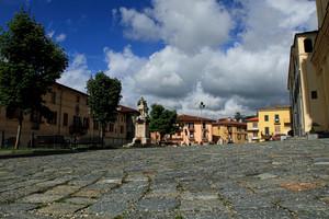 la piazza di Santa Maria