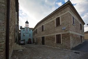 Piazza Mazzini di Sorbolongo