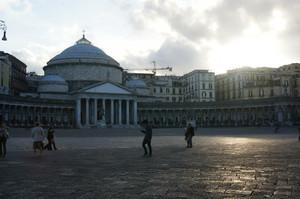 Splendida piazza del Plebiscito