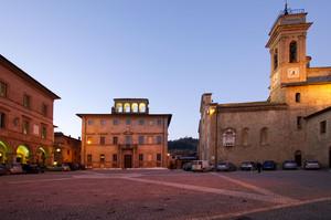 "Mercatello sul Metauro "" Piazza Garibaldi """