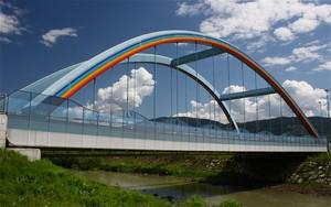 Un arcobaleno in cielo