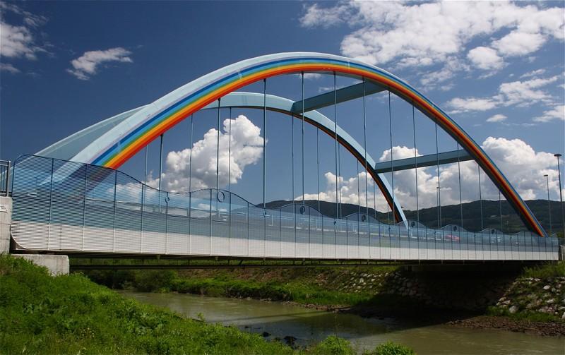 ''Un arcobaleno in cielo'' - Zambana