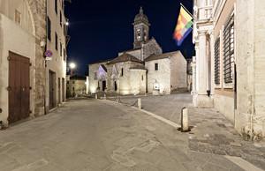 San Quirico d' Orcia – Notturno -