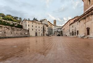 Spoleto – Piazza Duomo -