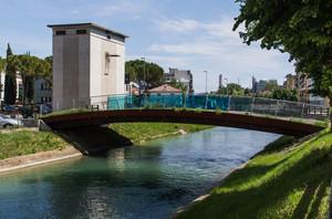 Ponte moderno a Monfalcone