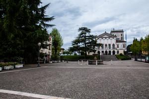 La piazza di Nervesa