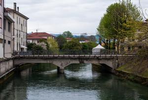 Uno dei ponti di Nervesa