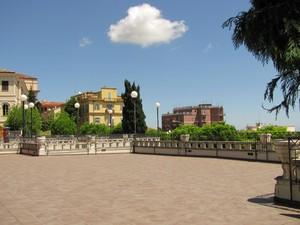 Balcone sulla città