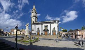 La piazza Don Diego di Pedara