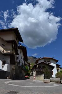 Nuvola suggestiva in piazzetta S.Paolina