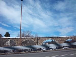 Ponte ferroviario della fu calabro lucana a Camigliatello Silano