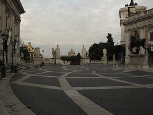 Dopo la notte ……………Roma si risveglia