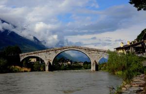 Il ponte simbolo della valle