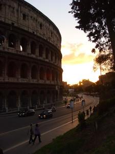 Gigante al tramonto