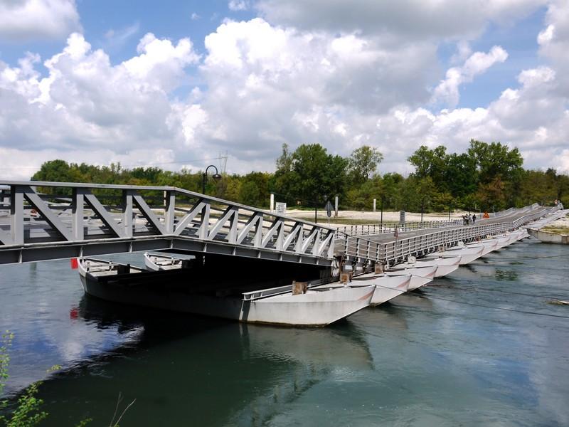 ''Il ponte snodato….'' - Bereguardo
