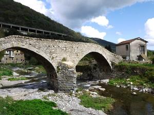 Il ponte di San Lazzaro Reale…..