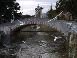 Il ponte di san Sebastiano…