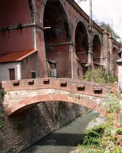 Il piccolo ponte rosso a Ponterosso